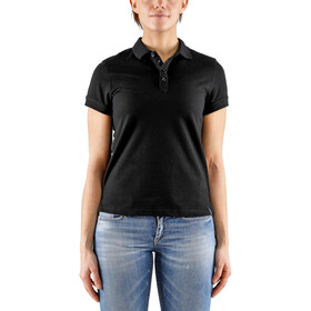 Craft Casual Pique Polo Mujer, black